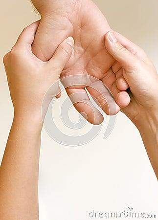 Acupressure - Hand