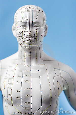 Free Acupuncture Points Stock Photography - 1660522