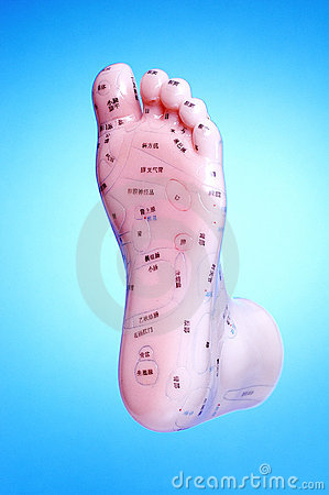 Acupunture Foot Meridian Points