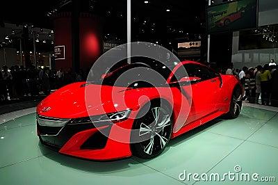 ACURA NSX concept car Editorial Photo