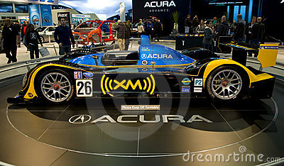 Acura Race Car Editorial Photo