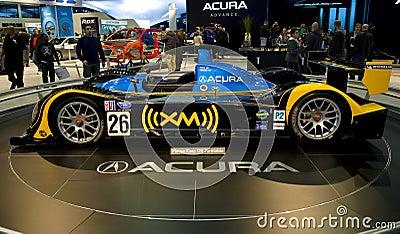 Acura Race Car Editorial Photo