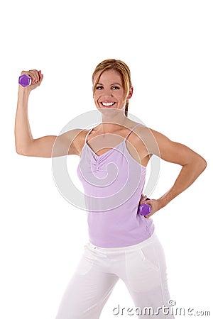Ad addestramento di forma fisica