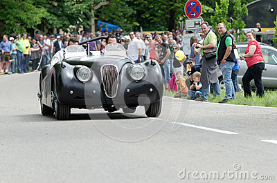 ADAC historic rally Editorial Photography