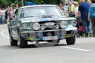 ADAC historic rally Editorial Image