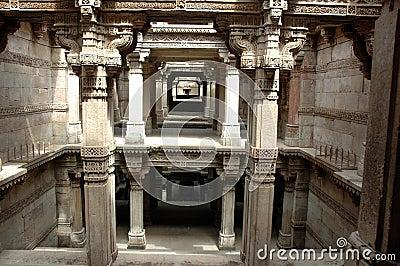 Adalaj Step well-A grand view