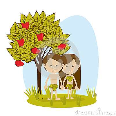 Free Adam And Eve Royalty Free Stock Photo - 35241055