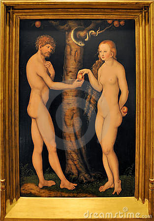 Adam and Eve Editorial Stock Image