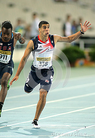 Adam Gemili de la Grande-Bretagne Photo stock éditorial