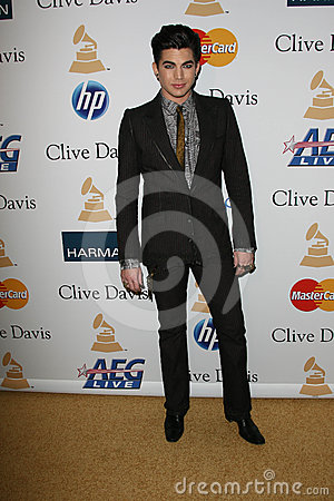 Adam Lambert Editorial Stock Photo