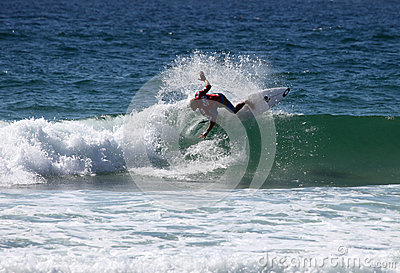 Adam Melling - Australian Open Manly Australia Editorial Photo