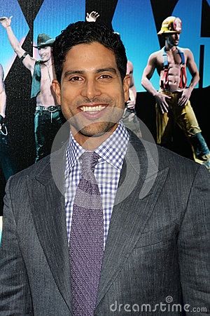 Adam Rodriguez arrives at the Editorial Photo