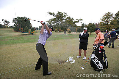 Adam Scott, Tour Championship, Atlanta, 2006 Editorial Image