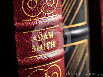 Adam Smith author Editorial Photo