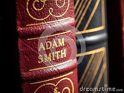 Adam Smith author Editorial Photo