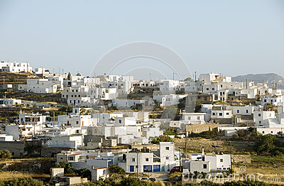 Adamas Plaka  Greek island Cyclades architecture