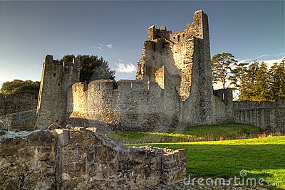 Adare Castle - HDR