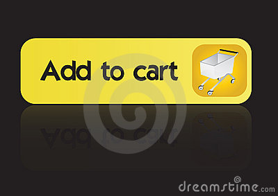 Add to cart button -vector