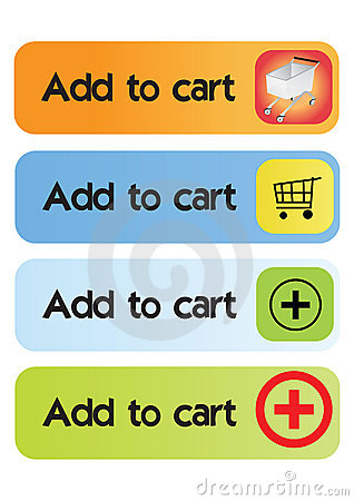 Add to cart buttons - vector