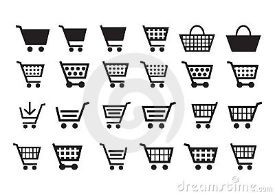 Add to cart icons