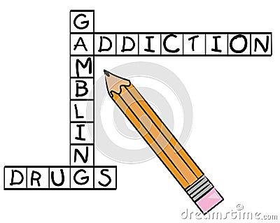 Addiction crossword