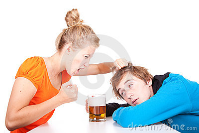 Addiction - problems with alcohol