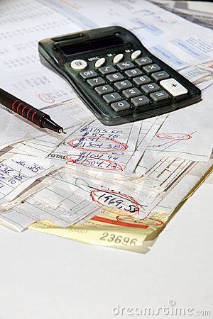 Adding bills vertical
