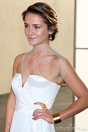 Addison Timlin arrives at the ABC / Disney International Upfronts Editorial Image