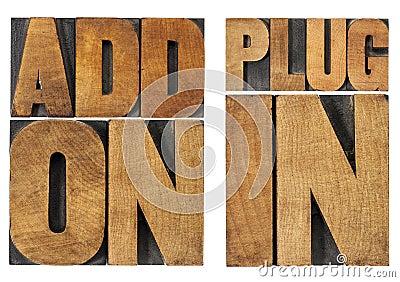 Addon and plugin