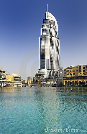 Address Hotel in the downtown Dubai