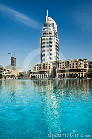 Address Hotel, Dubai Editorial Stock Image