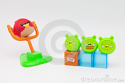 Angry Birds Toys Editorial Image