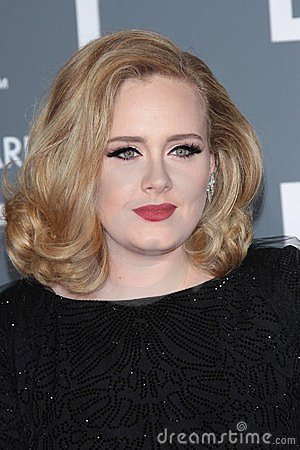 Adele Editorial Stock Photo