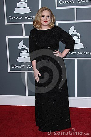Adele Editorial Stock Image