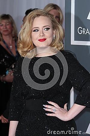 Adele Editorial Stock Photo