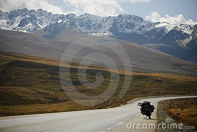 Adenture motorcycling