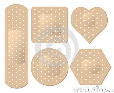 Adhesive Bandage Set