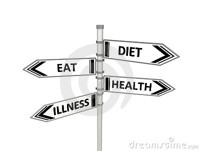 Adiete o coma, salud o enfermedad