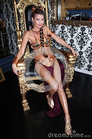 Free Adina Potthoff At The LeiasMetalBikini.com 10th Anniversary Celebration At Gentle Giant Studios, Burbank, CA 05-25-12 Stock Image - 25180731