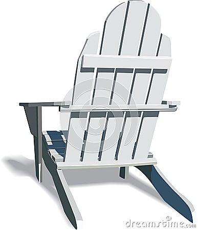 Wood Adirondack Chairs Clip Art