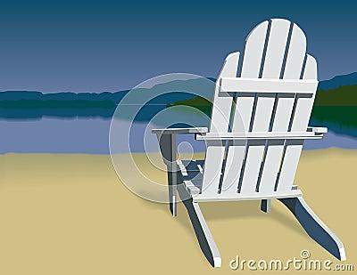 Adirondack Chair Scene