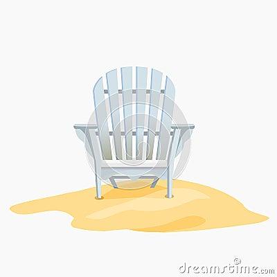 Adirondack Rocking Chair Clip Art
