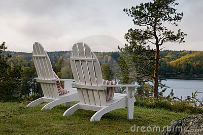 adirondack chairs royalty free stock images image 7051089. Black Bedroom Furniture Sets. Home Design Ideas