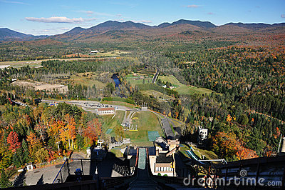 Adirondack Mountains in fall