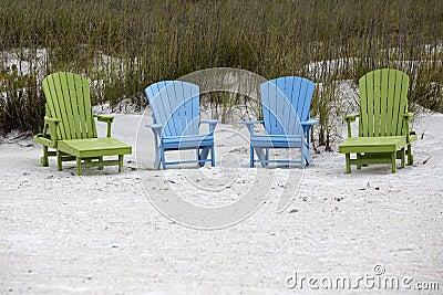 Adirondackstoelen