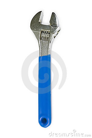 Free Adjustable Spanner Royalty Free Stock Photo - 5268555