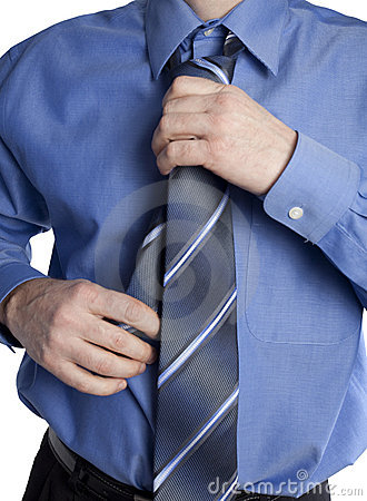 Adjusting neck tie