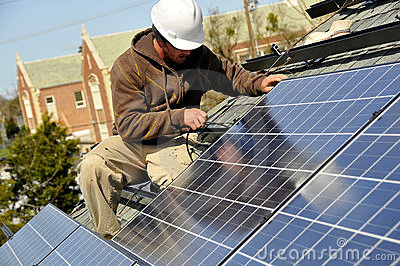 Adjusting Solar Panels 2