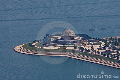 Adler Planetarium Chicago Editorial Stock Photo