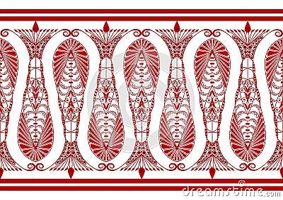 Admirable Claret Pattern
